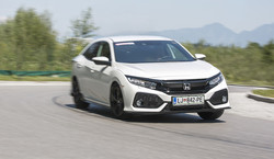 Honda civic 1.5 turbo sport: Čista desetka!